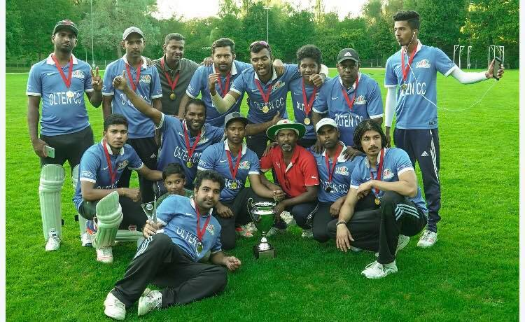 Swiss Mr. Pickwick T20 Cricket Cup Champions 2017
