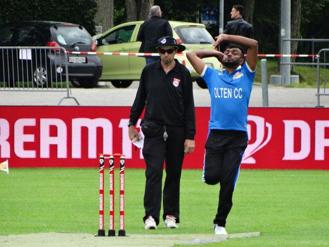 Dream11 European Cricket Series St. Gallen / Day 2